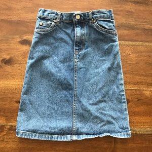 🍎 Children's place denim skirt